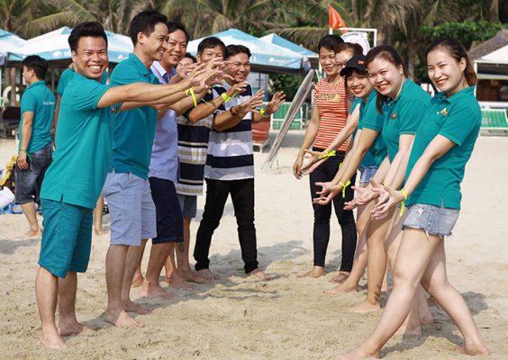 Team building kỷ niệm 10 năm thành lập saigon wood