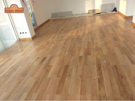 lót sàn gỗ kỹ thuật mới